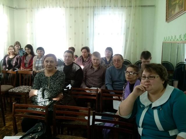 Отчетно - перевыборная конференция профсоюза работников культуры Ижемского  района.